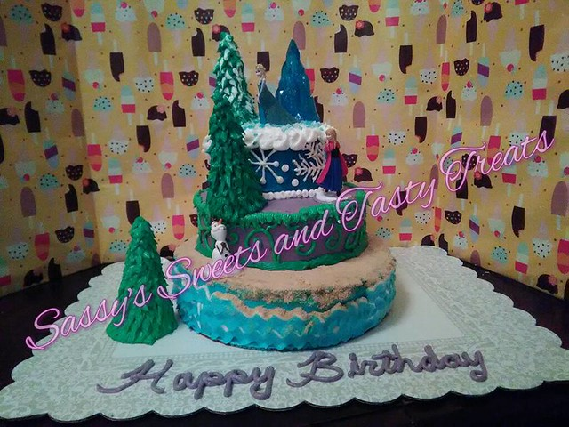 Cake by Sassy's Sweets and Tasty Treats