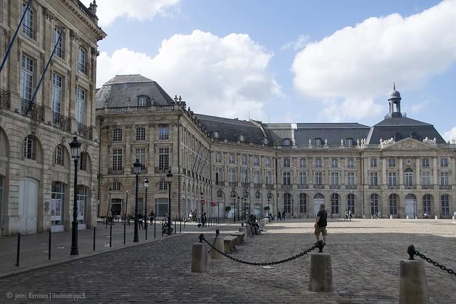 Place de la Bourse -aukion kulmalla