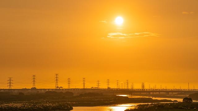 Sunset|濁水溪