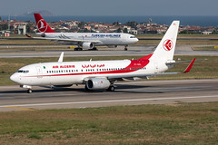 7T-VKL Air Algerie Boeing 737-8D6