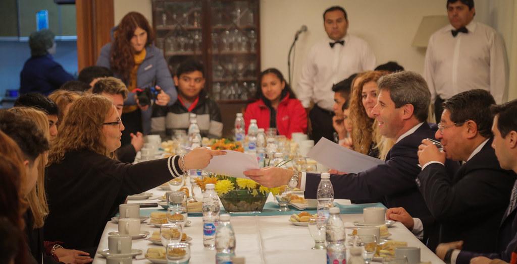 2019-09-11 PRENSA: El Gobernador Desayunó junto a Alumnos y Docentes de Pozo de los Algarrobos