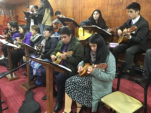 Reunión de Coordinación y Ensayo masivo de Coro UNIPECH Pucón - Villarrica