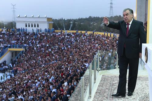 Иштирок дар ҷамъомади тантанавӣ дар амфитеатри шаҳри Кӯлоб  11.09.2019