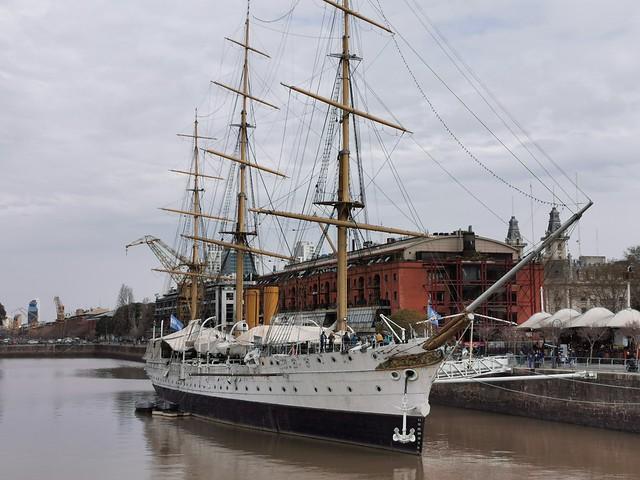 fragata Libertad.