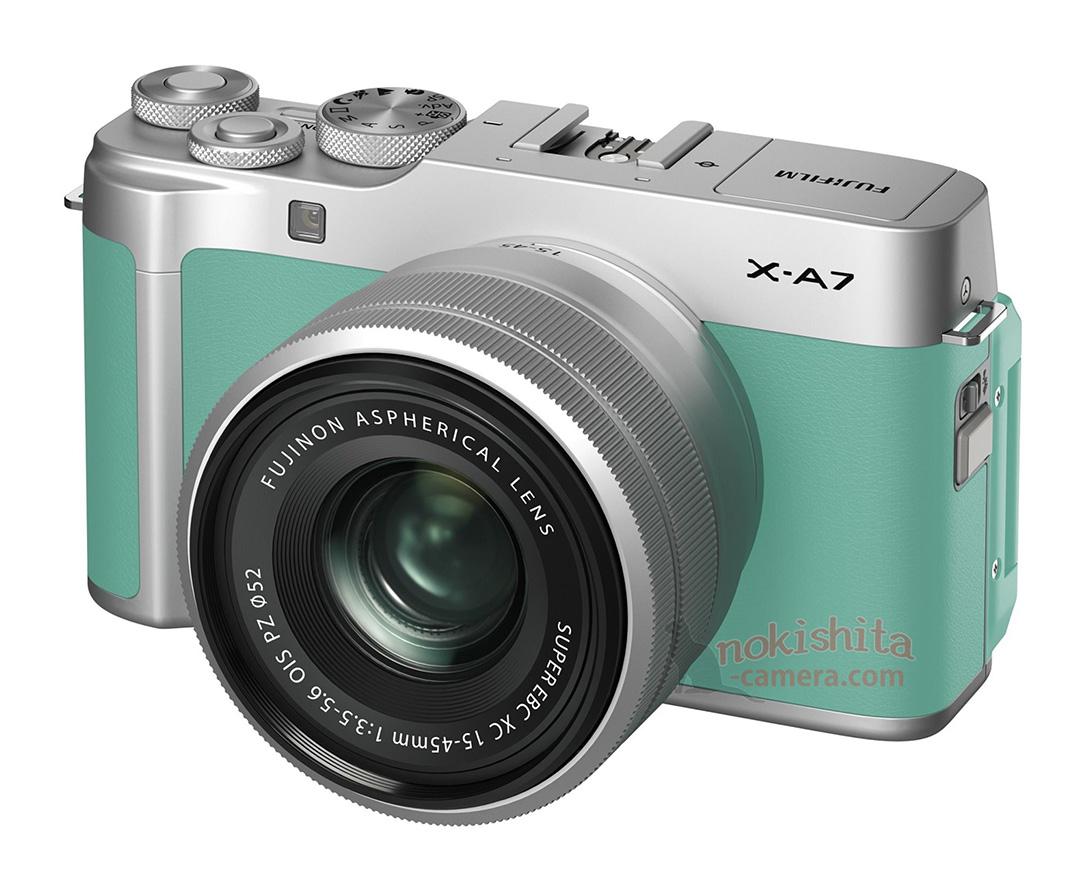 Fujifilm X-A7 สีเขียวมินท์