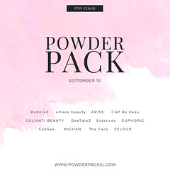 POWDER PACK GENUS September 19'