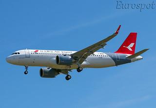 F-WWBM Airbus A320 Neo Air Travel