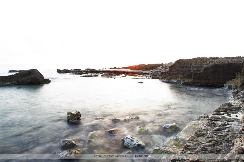 En na playa de Javea