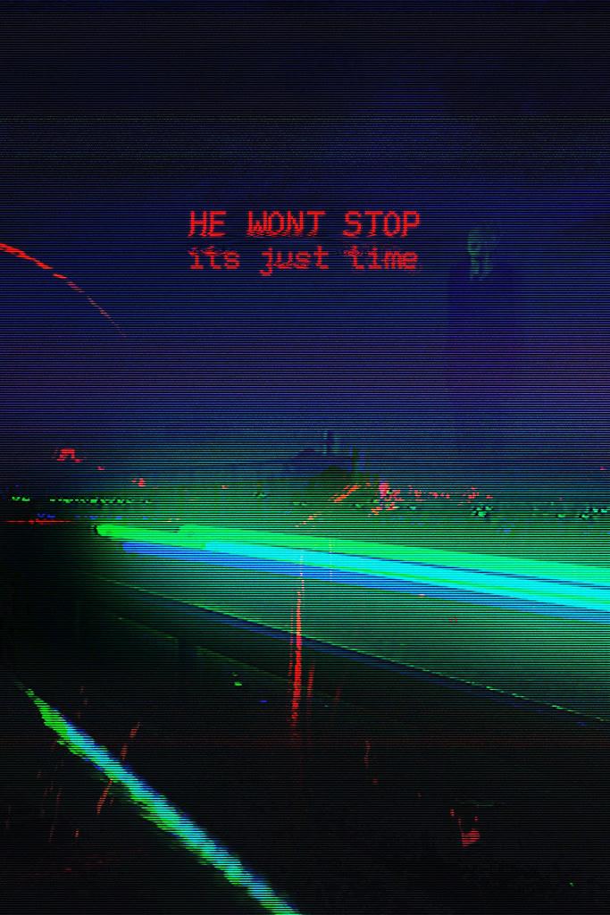 TIME [WON'T STOP]