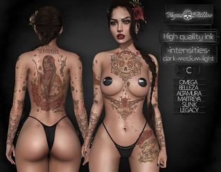 .: Vegas :. Tattoo Be Courageous