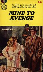 Gold Medal Books 490 - Thomas Wills - Mine to Avenge