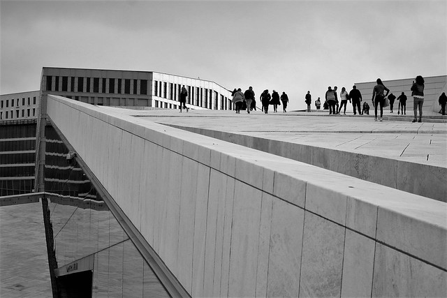 another shot from the Opera house in Oslo