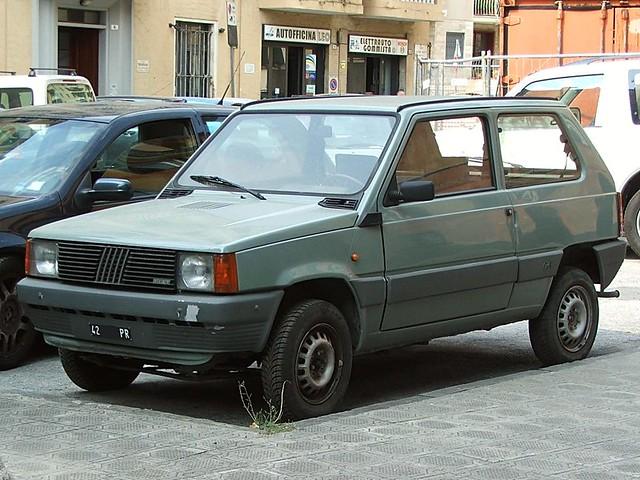 Fiat Panda 4x4 - 1984