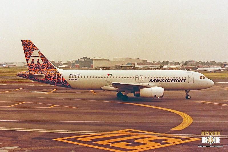 Mexicana / Airbus A320-231 / N225RX