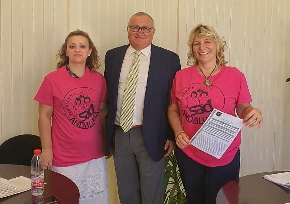 Representantes SAD Andalucía en DIPU SEVILLA_Noticia