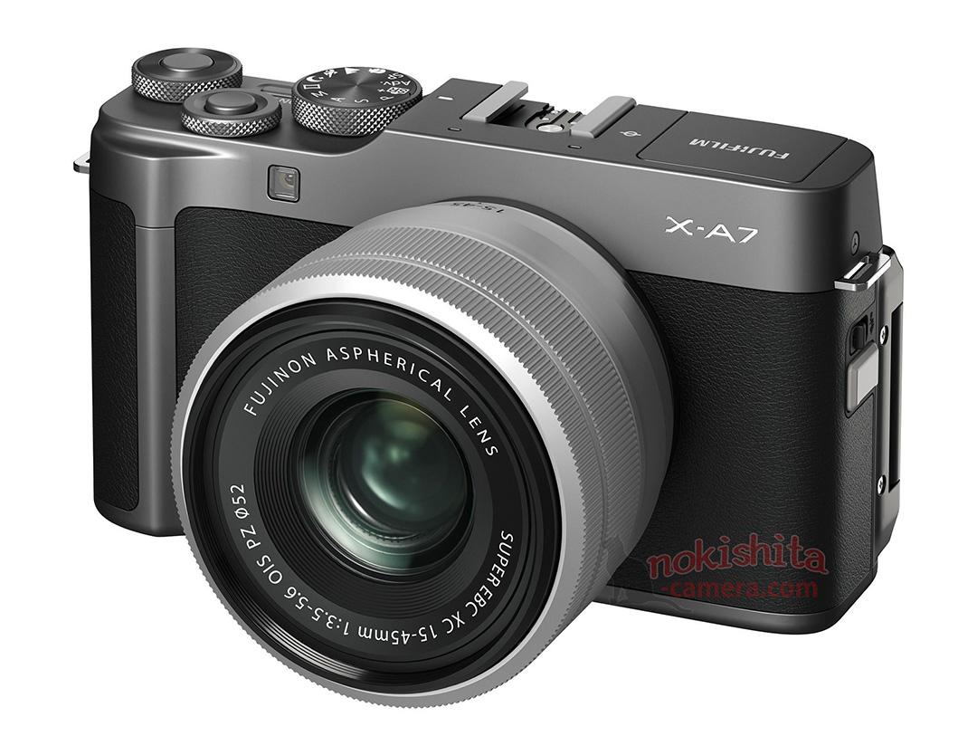 Fujifilm X-A7 สีดำ