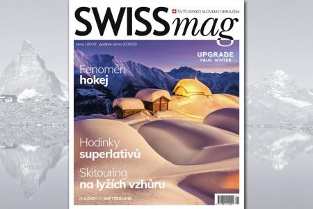 Sotva skončily prázdniny a hned myslíme na další. Podzimní, ale hlavně pak ty zimní, lyžařské. Stejně tak to dělá i časopis SWISSmag, který se právě vydává z tiskárny na cestu ke svým čtenářům. Milovníkům Švýcarska př...