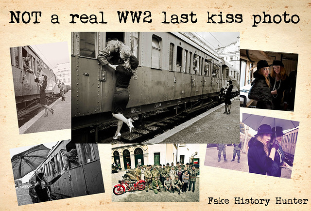 NOT a real WW2 last kiss photo 'jpg