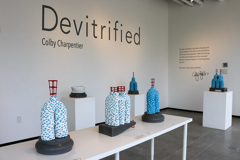 Devitrified - Colby Charpentier, 2018-19 Artist In Residence Exhibition