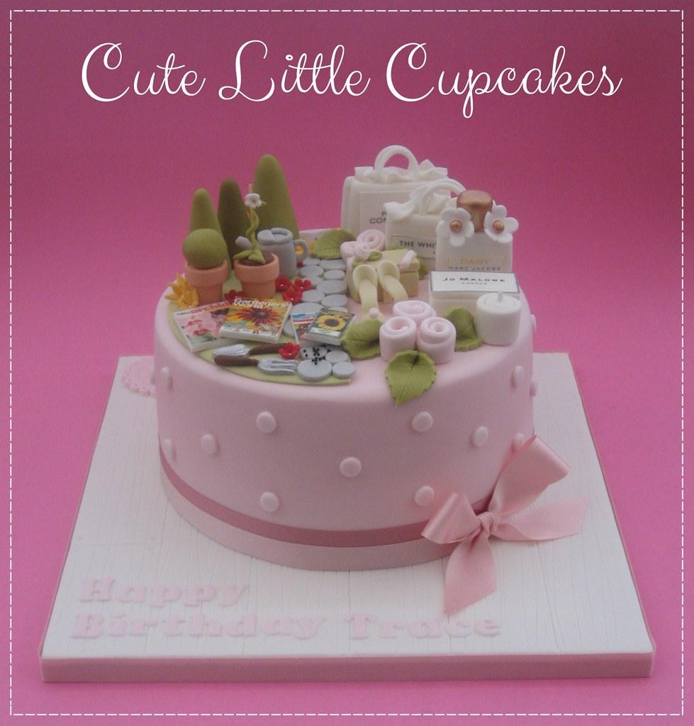 Astounding Split Design 50Th Birthday Cake A Photo On Flickriver Personalised Birthday Cards Veneteletsinfo