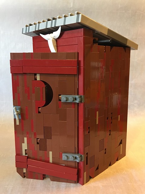Brilliant Lego Outhouse Archives The Brothers Brick The Brothers Brick Download Free Architecture Designs Itiscsunscenecom
