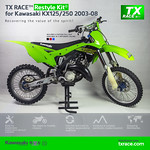 TX RACE™ Restyle Kit® for Kawasaki KX125/250 2003-2008