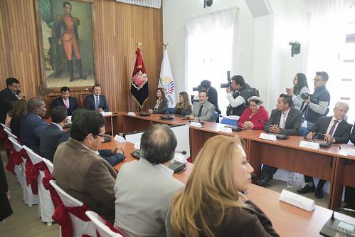 EL PRESIDENTE DEL LEGISLATIVO, CÉSAR LITARDO, RECIBIÓ UN RECONOCIMINETO POR PARTE DE LA ALCALDÍA. RIOBAMBA, 11 DE SEPTIEMBRE DEL 2019.