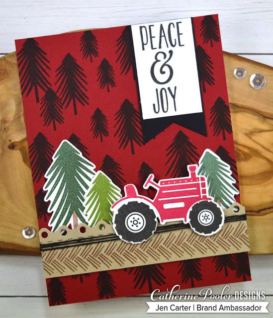 One Fine Pine Background Christmas Tree Farm JDC