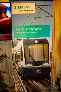 The Siemens Banner of the Sound Transit S700 Low Floor LRV