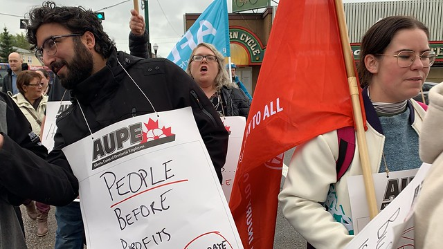 Fight the Cuts - AUPE