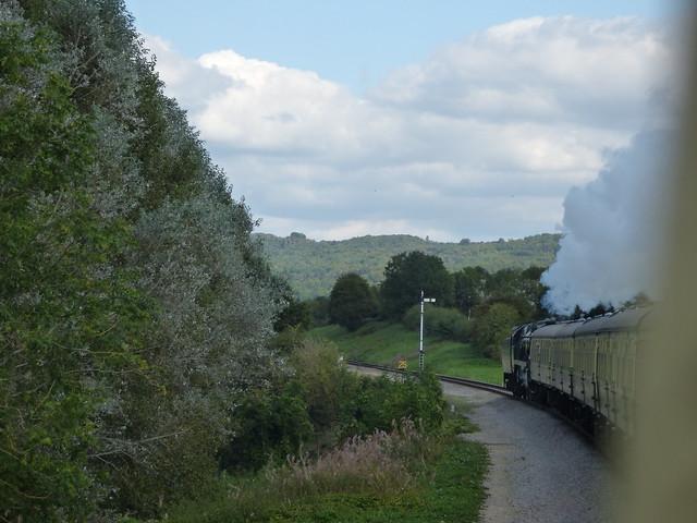 Gloucestershire Warwickshire Steam Railway: from Winchcombe to Toddington - 35006