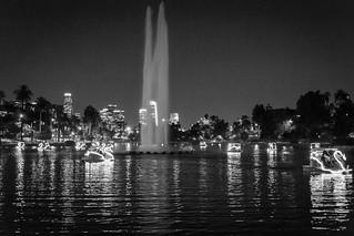 Los Angeles after dark