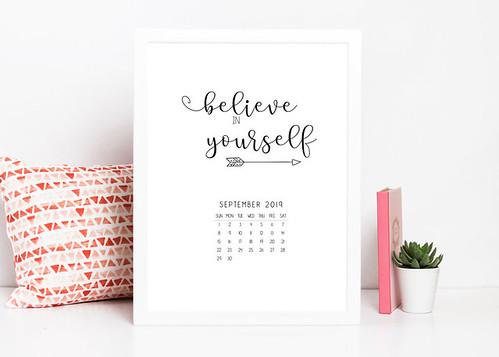 Free Printable September+Calendar