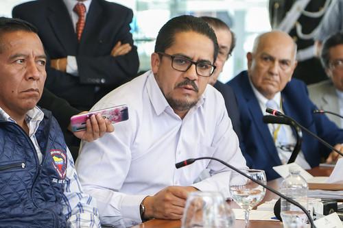 PRESIDENTE DE LA ASAMBLEA SE REUNIRÁ CON ORGANIZACIONES SINDICALES PARA ESCUCHAR SUS DEMANDAS,  QUITO 10 DE SEPTIEMBRE DEL 2019.