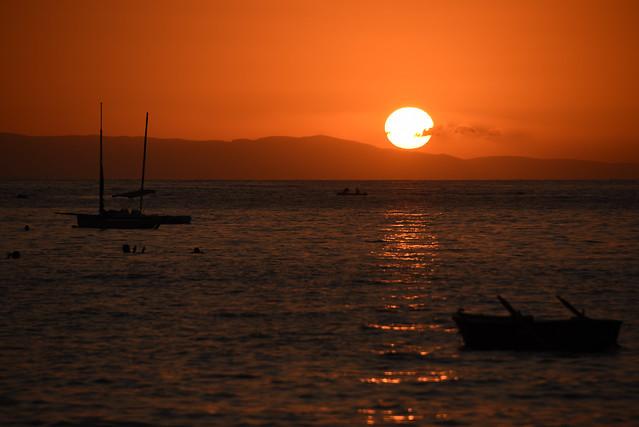 Λιμένι - Δύση ηλίου