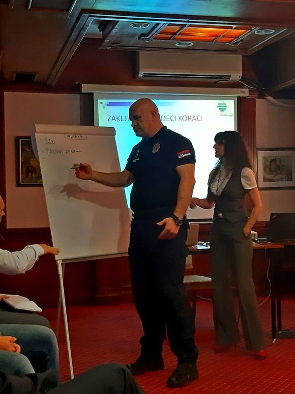 Slovenian support to Serbia in strengthening capacities for management of patrols in full swing