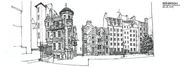 sketch_SCOTLAND_WritersMuseum Edinburgh_190828_72dpi