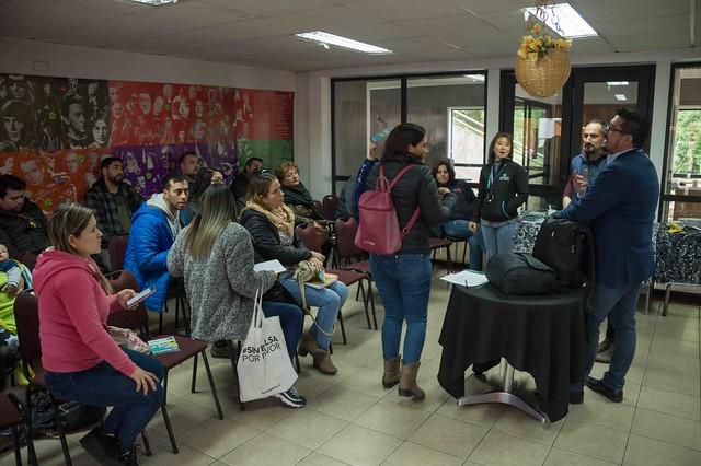 Reunión de coordinación de Fiestas Patrias Cisne Mami
