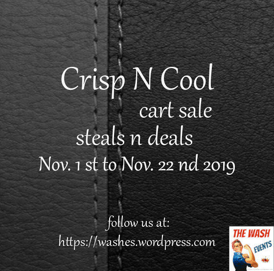 cool n crisp nov 2019 event poster