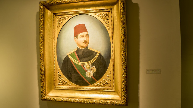 Young Khedive Abbas Helmy II
