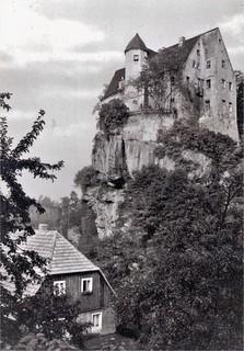 """Hohnstein (Sächsische Schweiz), Jugendherberge """"Ernst Thälmann"""""""