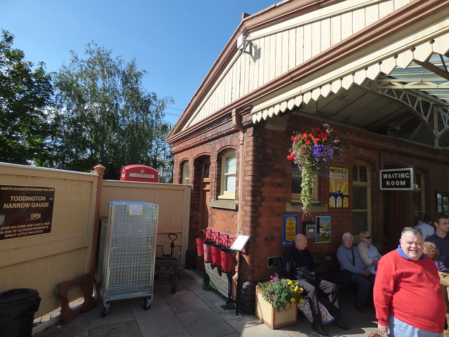 Toddington Station on the GWSR - Waiting Room