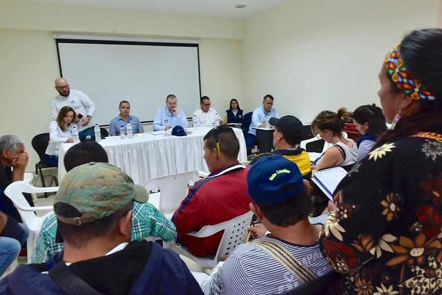 Primer día de Misión Humanitaria de la Defensoría del Pueblo por el Macizo Colombiano