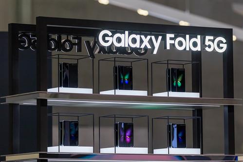Galaxy Fold 5G Präsentation von Samsung: Android  Falt-Handys mit  Infinity-Flex-Display