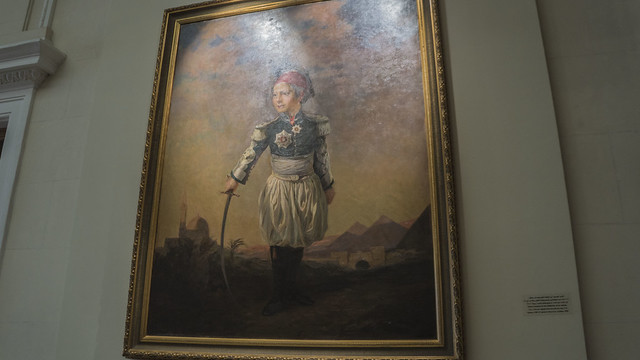 Tusun Pasha , son of Mohamed Ali Pasha