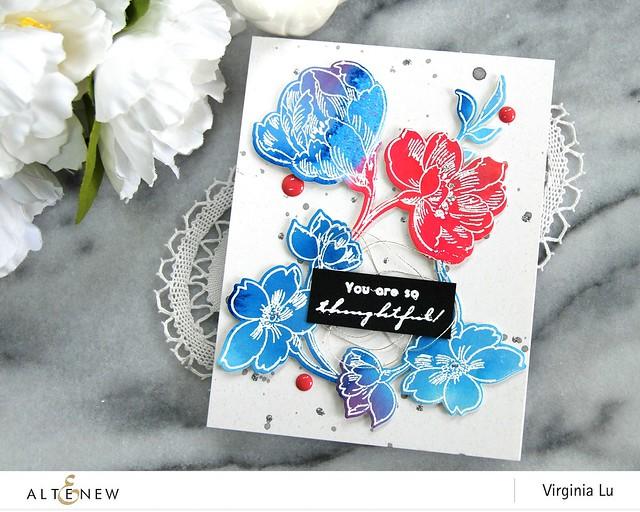 Altenew-WatercolorBrushMarkerRefills-PenSketchedFlowers-Virginia#4