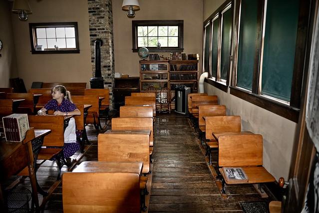 Pioneer Sholes School 1872 Leroy Oaks County Forest Preserve Saint Charles IL