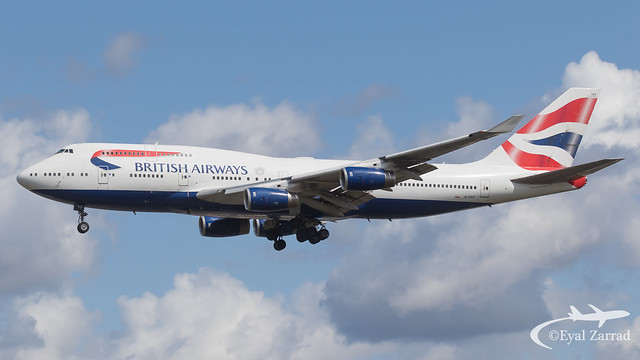 LHR - British Airways Boeing 747-400 G-CIVV
