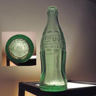 1935 Coca Cola Coke Bottle Uniontown, PA