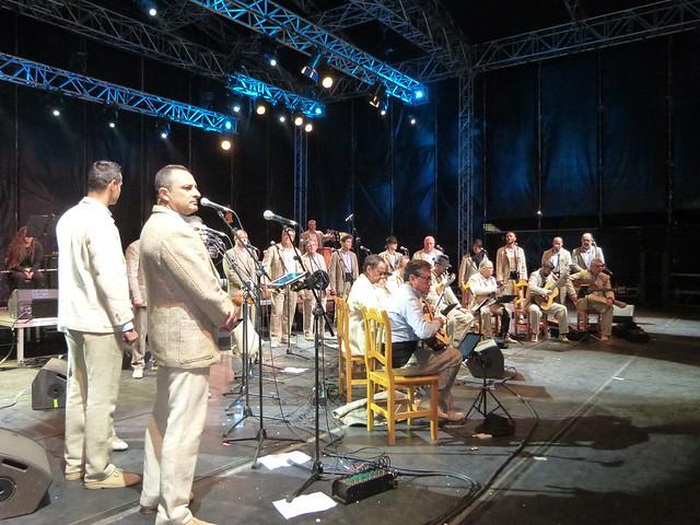 Los Gofiones en concierto en Los Dolores
